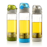 Hot selling new 2013 Summer travel pot portable leak-proof cup sports bottle tea filter tea cup glass