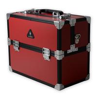 Free Shipping The Body Shop Black Zebra Professional Aluminum Cosmetic Case Aluminum Makeup Case Makeup Box