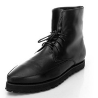 Men's boots trend 2013 pointed toe genuine leather boots men's boots martin boots fashion shoes men's boots