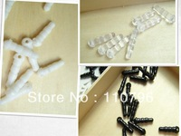 Free shipping 300pcs/lot PVC Dustproof mobile plug black white transparent 1.7*0.5cm with hole headphone jack dust plug