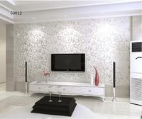 free shipping 5.3 square papel de parede modern PVC 3D 50012 esmalte