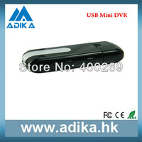 Best Seller 720*480 Mini DVR USB, USB Hidden Camera with Voice Recording Free Shipping ADK-U8