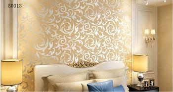 free shipping 5.3 square wallpaper modern PVC 3D 50013