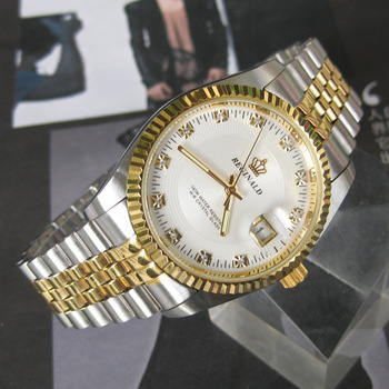 2013 New Style Hot Selling Genuine High Quality Warranty Item Watch Cd Diamond Dial Lovers Watches Highly Waterproof Wristwatch