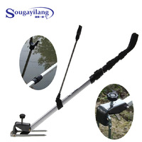 Rod mount 1.5m aluminum alloy pole fishing tackle Brand Fishing Accessory Adjustable Rod Pole Bracket Holder Fishing Tool