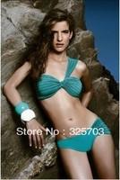 Free shipping, hot fashion vintage shoulder high quality women's bikini/wholesale/gifts/summer beach/cheap wholesale