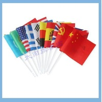 8# Polyester National Flags of the World 14x21cm Hand Flag