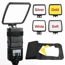 Professional Photo Studio Flash Reflector Diffuser Kit for Canon Nikon Pentax Camera DSLR