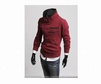 Free Shipping Man's Fashion Zipper Designer Sweatshirts Jackets Men's cool sweatshirts coat