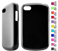 For Blackberry Q10 soft TPU gel skin cover, many colors available  by DHLFEDEX shipping