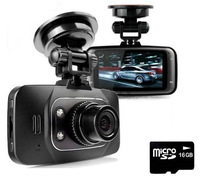 Free Shipping!!Original HD 1080P Car DVR Vehicle Camera Video Recorder Dash Cam G-sensor HDMI GS8000L& 16GB TF card (C4)