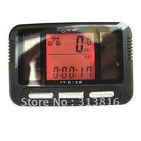 1pcs Waterproof Solar Energy Bicycle Bike Computer Odometer Speedometer Calorie m/h Km/h Temperature C/F Backlight 812
