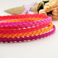 Min order $15 Promtion! DIY jewelry findings 10mm width 2mm thickness leather 3color  strap lots cheap jewelry wholesale
