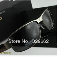 2013 Classic 8485 Sunglasses men polarized Brand Designer the glasses Driving and Fashing Sun Glass with Box Vintage glasses man