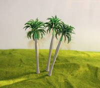 TDY15 Layout Model Train Palm Trees Scale HO 15CM