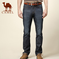 Camel camel men's clothing 2013 spring casual male straight jeans 079005