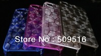 Ultra-thin water cube case for iphone 4 4S