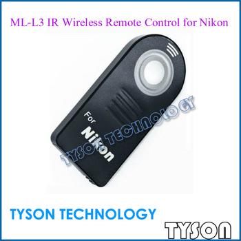 ML-L3 IR Wireless Remote Control Infrared Distance Controller Top for Nikon D90 D70 D60 D7000 D5100 D5000 D3000 Free Shipping