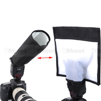 25x28cm Multifuctional Foldable Reflector/Reflective Speedlite Snoot/Closed Flash Softbox Diffuser for Canon Nikon Pentax Metz
