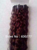 Queen Hair Extension,Clip-in Hair #4,Deep Wave,28inch,100gram/pc,100%Human Hair Extensions