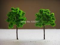 G7040 Scale Train Layout Set Model Trees N HO 7cm
