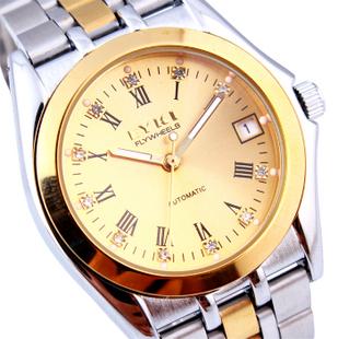 Ikey eyki calendar luminous watches mechanical watch mens watch mechanical watch male 8429