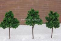 D4524 Scale Train Layout Set Model Trees N HO 5cm