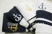 Free Shipping! Wholesale 500pcs/lot  Sexy matching colour navy stripe Men's Underwear