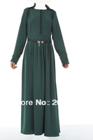 Hot sale Islamic Turkish style, women's abaya  TK-222 Series(MOQ:1 Piece) ,(Abaya , Jilbab, muslim woman's cloth ,arabic cloth)