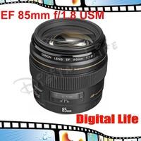 Canon EF 85mm f/1.8 USM,telephoto lens for EOS 50D/450D/500D/550D/7D/1000D/1100D/60D/600D/1Ds