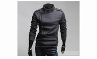 2013 New Fashion Man's Zipper Sweatshirts Jackest  Men's Designer Jumper Coat outdoor overcoat