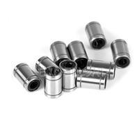 10 Pcs 12mm LM12UU Linear Ball Bear Bearing CNC LM Series Liner Ball Bearings E1