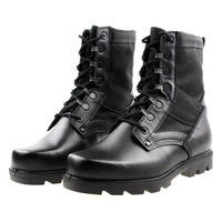 Single high boots hiking boots Men cowhide martin boots with a single outdoor boots free shipping S0729