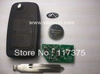 Chery X5  2 button folding remote key 433mhz