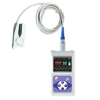 CMS60D Color Screen Display Electronic Portable Handheld Pulse Oximeter With Software