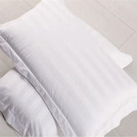 Pillow case white 100% polyester cotton  pillow cover