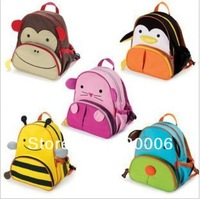 15 Designs Cute Child Cartoon Animal preschool School Bag Quality Oxford Canvas Backpack Baby Boys Schoolbags Kindergarten Kids