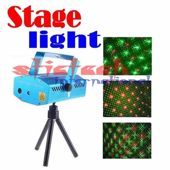 BY DHL OR EMS 20 pieces 150mW Green&Red DJ Party Laser Stage Light Lighting ,Wholesale/Retail