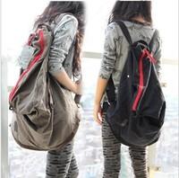2013 new handbag Korean version of casual fashion canvas bag handbag women shoulder bag backpack schoolbag