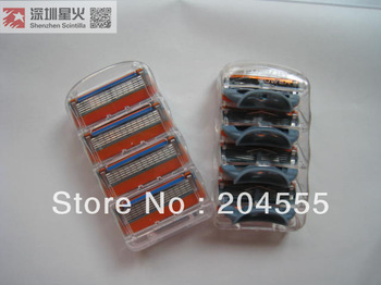 Free shipping! 8pcs(2 pack) per lot  Razor blades shaving blade High quality men cleaning product