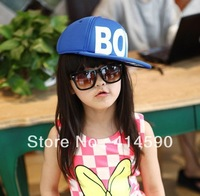 Free shipping InStock 2013New  10pcs /Lot Baby Sun Hat Baseball Hat Kids Summer Caps Big Brim Sunbonnet 4-8 Year Children