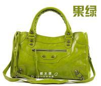 18 colors Designer brand Women's bags 2013 tassel handbag shoulder tote bags motorcycle bag Medium size free ship
