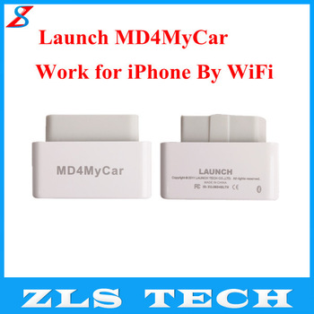 LAUNCH MD4MyCar OBDII EOBD Code Reader Work for  iPhone for iPod by WiFi Free Shipping