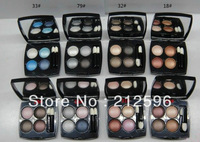 2013 new MAKEUP NEW 4 Color Eyeshadow 1.2g (15 pcs/lot)