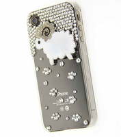 ePacket HK Post Free Shipping for zopo c2 Luxury 3D Sheep Rhinestone Crystal Diamond Case Bling Cover Accessory