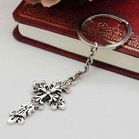 Min order $15 Free shipping,Wholesale fashion cross key chain .TOP quality cheap key chain wholesale