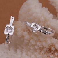 Free shipping!!Hot Wholesale New Fashion 925 Sterling Silver&Rhinestone  Women's Earrings CE071 For Gift