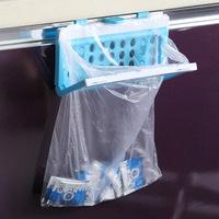 Daily use garbage bags storage rack plastic trash rack e853