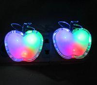 2013 Love Nightlight Unplugged&Heart-shaped peach heart Unplugged Nightlight&Warm energy-saving lamps&