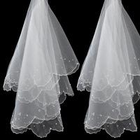 2014 White Wedding Veil Bridal Wedding Dress Veil Bridal Accessories Birdcage Fashion Veil Drop Shipping